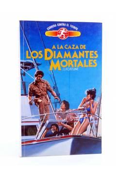 Cubierta de CARRERA CONTRA EL TIEMPO 4. EN BUSCA DE LA CORONA DE JACK EL LOCO (J.J. Fortune) Toray 1991