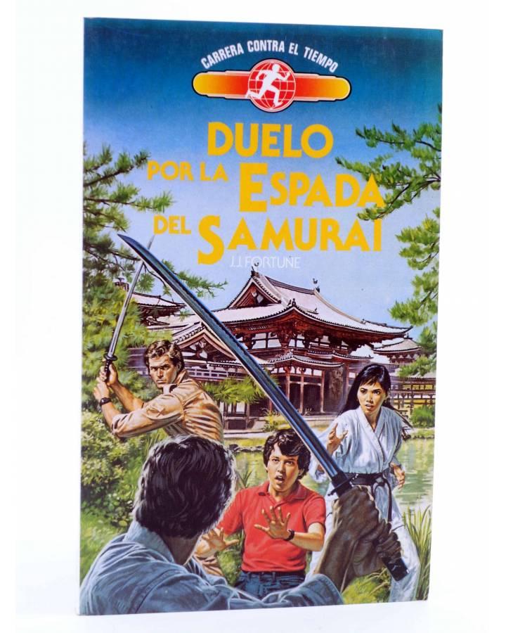 Cubierta de CARRERA CONTRA EL TIEMPO 8. ATRAPADOS EN LA URSS (J.J. Fortune) Toray 1991. SIENKIEWICZ
