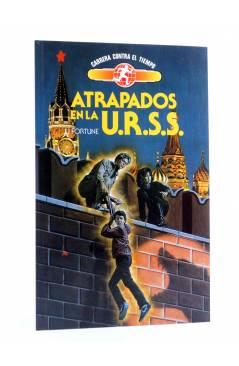 Cubierta de CARRERA CONTRA EL TIEMPO 9. VIAJE A LA ATLÁNTIDA (J.J. Fortune) Toray 1991. SIENKIEWICZ