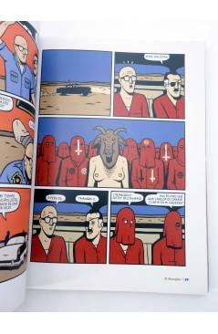Muestra 7 de EL MANGLAR. REVISTA DE HISTORIETA E ILUSTRACIÓN RETAPADO NºS 6 A 10 (Vvaa) Dibbuks 2007