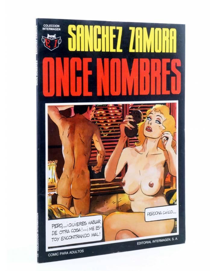 Cubierta de COLECCIÓN INTERMAGEN 1. ONCE NOMBRES (Sánchez Zamora) Intermagen 1985