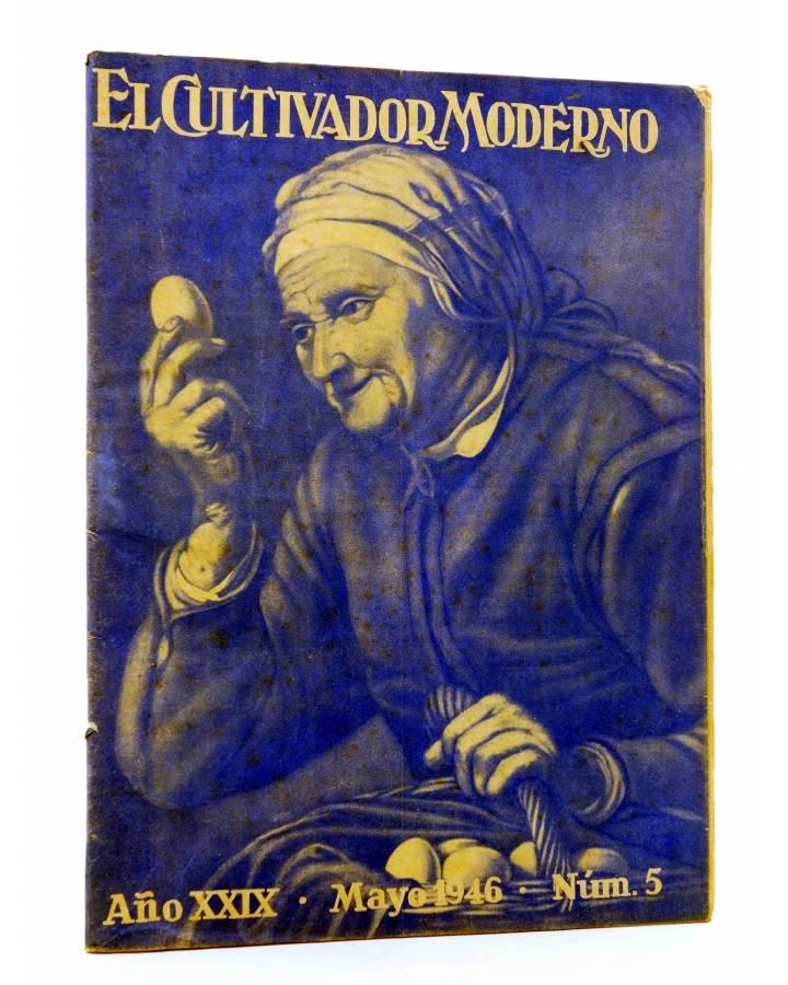 Cubierta de REVISTA EL CULTIVADOR MODERNO AÑO XXIX Nº 5. MAYO 1946 (Vvaa) El Cultivador Moderno 1946