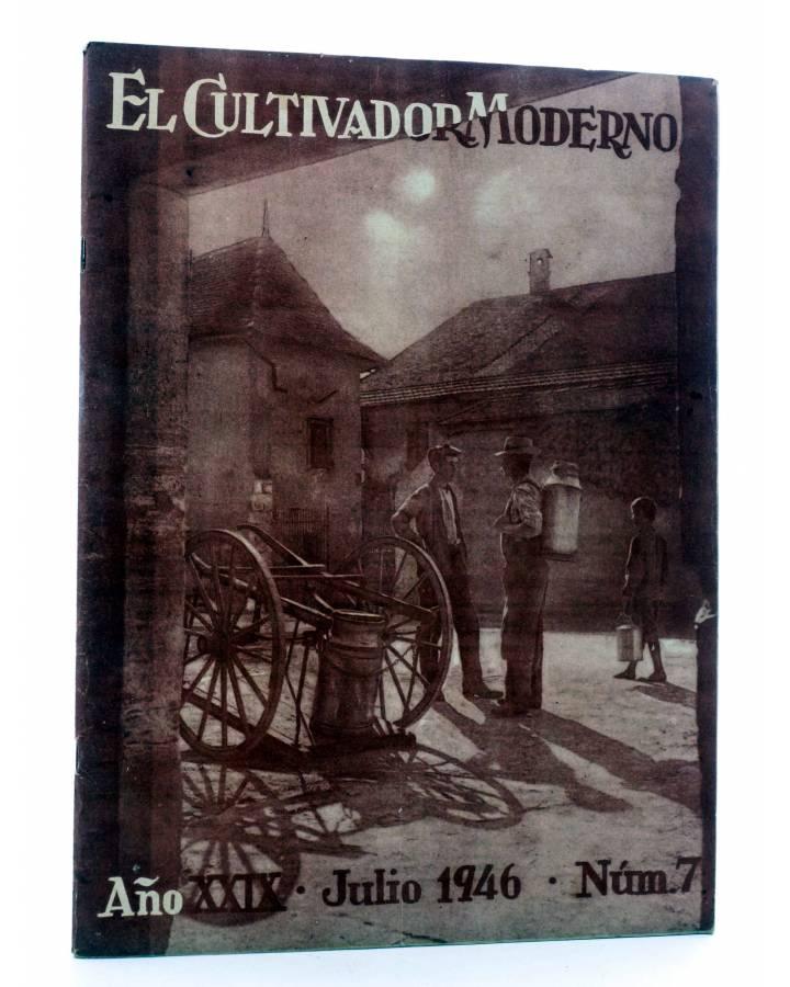 Cubierta de REVISTA EL CULTIVADOR MODERNO AÑO XXIX Nº 7. JULIO 1946 (Vvaa) El Cultivador Moderno 1946