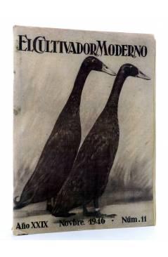 Cubierta de REVISTA EL CULTIVADOR MODERNO AÑO XXIX Nº 11. NOVIEMBRE 1946 (Vvaa) El Cultivador Moderno 1946