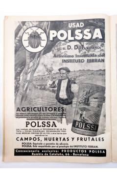 Muestra 2 de REVISTA EL CULTIVADOR MODERNO AÑO XXIX Nº 11. NOVIEMBRE 1946 (Vvaa) El Cultivador Moderno 1946