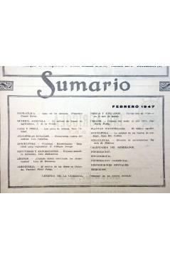 Muestra 1 de REVISTA EL CULTIVADOR MODERNO AÑO XXX Nº 2. FEBRERO 1947 (Vvaa) El Cultivador Moderno 1947