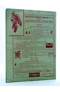 Contracubierta de REVISTA EL CULTIVADOR MODERNO AÑO XXX Nº 3. MARZO 1947 (Vvaa) El Cultivador Moderno 1947
