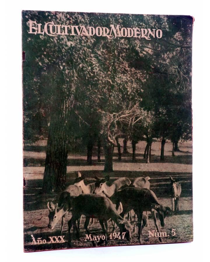 Cubierta de REVISTA EL CULTIVADOR MODERNO AÑO XXX Nº 5. MAYO 1947 (Vvaa) El Cultivador Moderno 1947