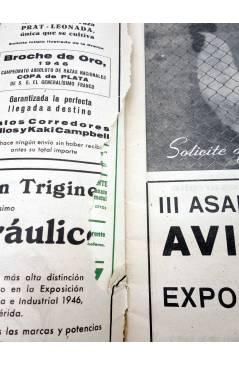 Contracubierta de REVISTA EL CULTIVADOR MODERNO AÑO XXX Nº 5. MAYO 1947 (Vvaa) El Cultivador Moderno 1947