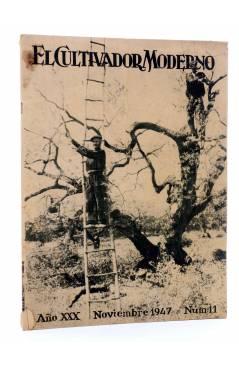 Cubierta de REVISTA EL CULTIVADOR MODERNO AÑO XXX Nº 11. NOVIEMBRE 1947 (Vvaa) El Cultivador Moderno 1947