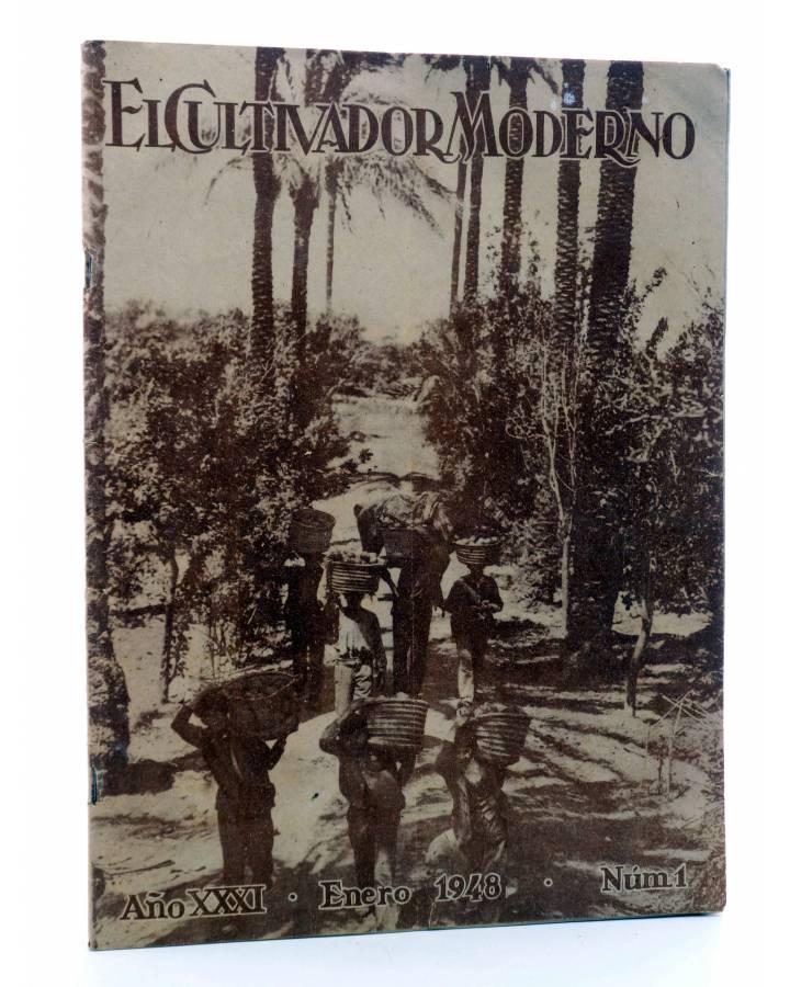 Cubierta de REVISTA EL CULTIVADOR MODERNO AÑO XXXI Nº 1. ENERO 1948 (Vvaa) El Cultivador Moderno 1948