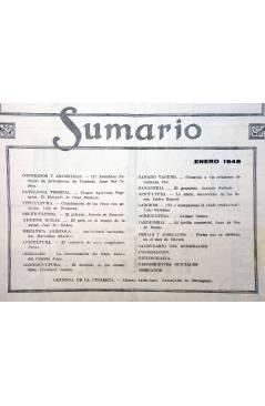 Contracubierta de REVISTA EL CULTIVADOR MODERNO AÑO XXXI Nº 1. ENERO 1948 (Vvaa) El Cultivador Moderno 1948