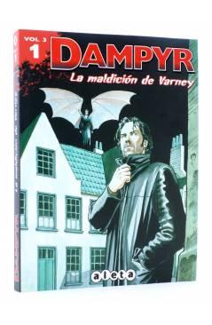 Cubierta de DAMPYR VOL. 3 Nº 1. LA MALDICIÓN DE VARNEY (Boselli / Roi) Aleta 2012