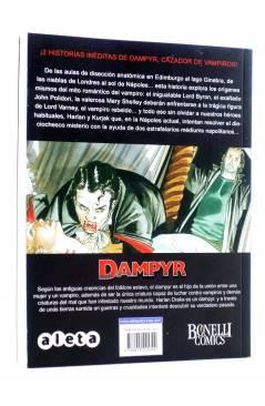 Contracubierta de DAMPYR VOL. 3 Nº 1. LA MALDICIÓN DE VARNEY (Boselli / Roi) Aleta 2012