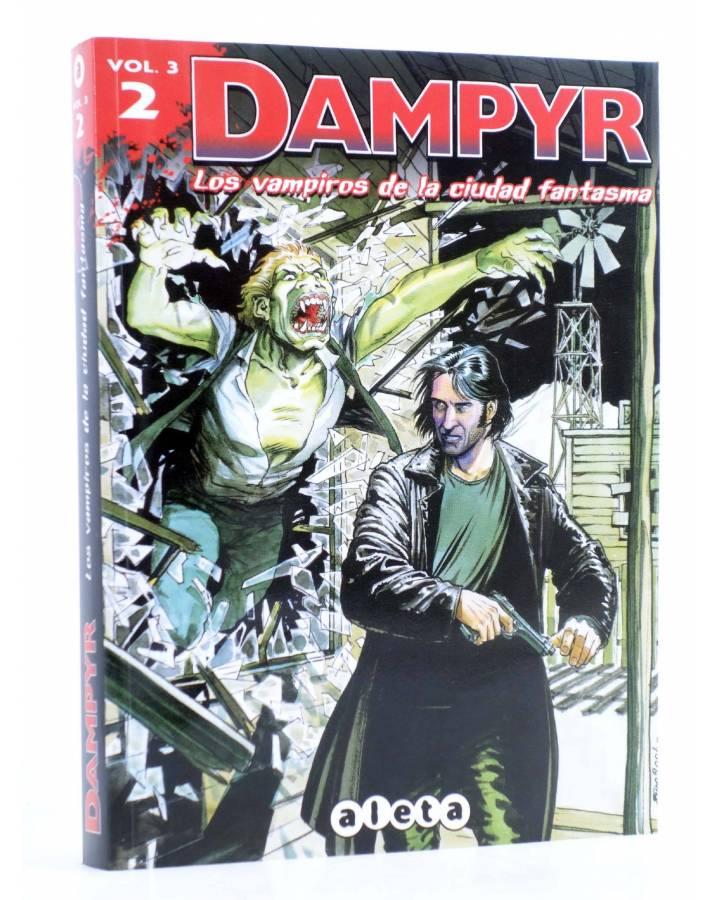 Cubierta de DAMPYR VOL. 3 Nº 2. LOS VAMPIROS DE LA CIUDAD FANTASMA (Boselli) Aleta 2013