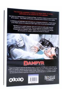 Contracubierta de DAMPYR VOL. 3 Nº 2. LOS VAMPIROS DE LA CIUDAD FANTASMA (Boselli) Aleta 2013
