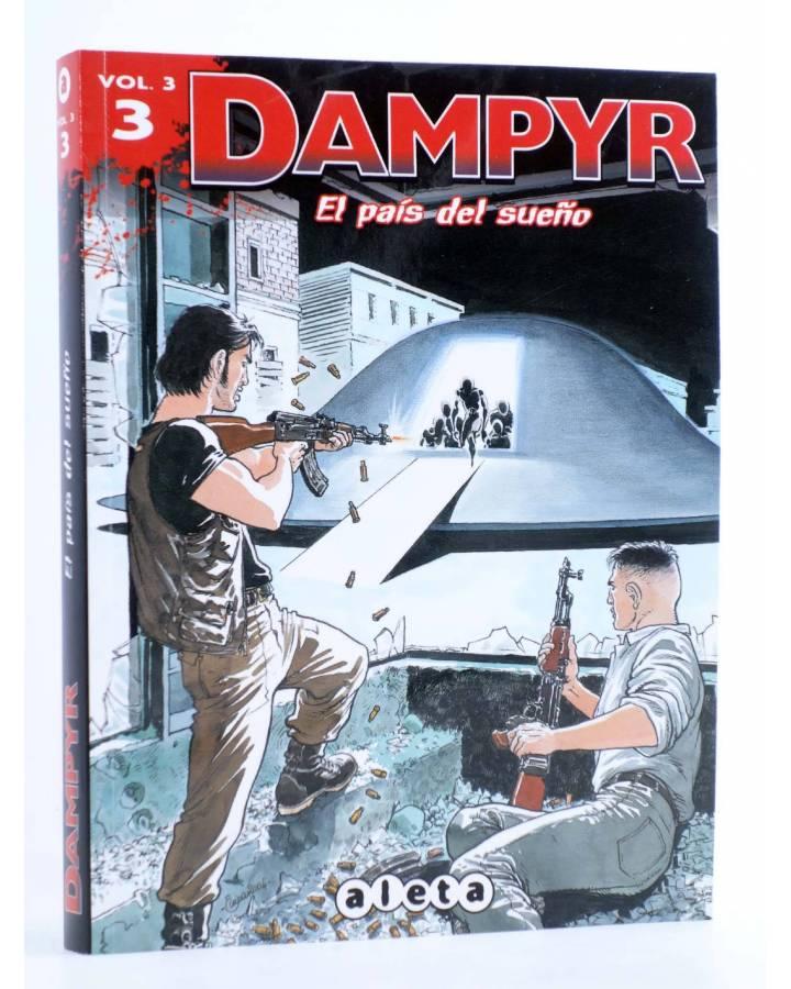 Cubierta de DAMPYR VOL. 3 Nº 3. EL PAÍS DEL SUEÑO (Boselli / Dotti / Russo) Aleta 2013