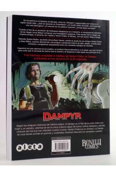 Contracubierta de DAMPYR VOL. 3 Nº 3. EL PAÍS DEL SUEÑO (Boselli / Dotti / Russo) Aleta 2013