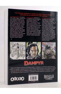 Cubierta de DAMPYR VOL. 3 Nº 4. LA FOTO QUE GRITA (Boselli / Dotti / Russo) Aleta 2014