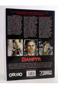Contracubierta de DAMPYR VOL. 3 Nº 6. EL GRAN RÍO (Boselli / Dotti / Russo / Andreucci) Aleta 2015