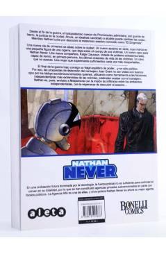 Contracubierta de NATHAN NEVER VOL. 3 Nº 1. ASESINATO POR ENCARGO (Vvaa) Aleta 2013