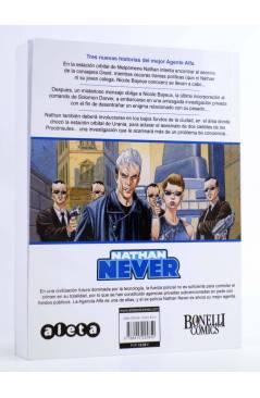 Contracubierta de NATHAN NEVER VOL. 3 Nº 2. EN EL NOMBRE DE LA JUSTICIA (Vvaa) Aleta 2013