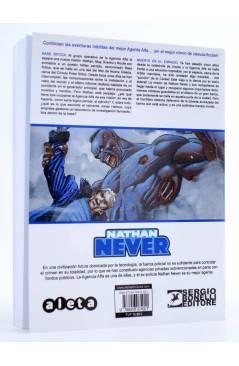 Contracubierta de NATHAN NEVER VOL. 3 Nº 5. MUERTE EN EL ESPACIO (Vvaa) Aleta 2015