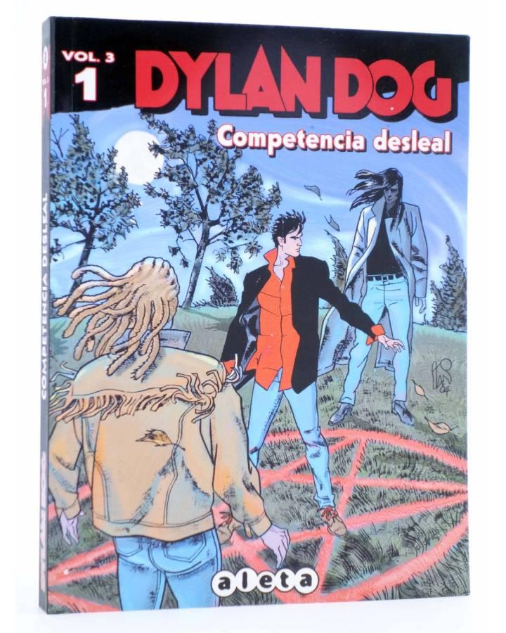 Cubierta de DYLAN DOG VOL. 3 Nº 1. COMPETENCIA DESLEAL (Vvaa) Aleta 2012