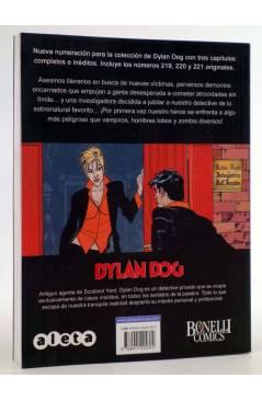 Contracubierta de DYLAN DOG VOL. 3 Nº 1. COMPETENCIA DESLEAL (Vvaa) Aleta 2012