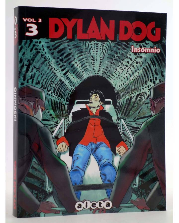 Cubierta de DYLAN DOG VOL. 3 Nº 1. INSOMNIO (Vvaa) Aleta 2014