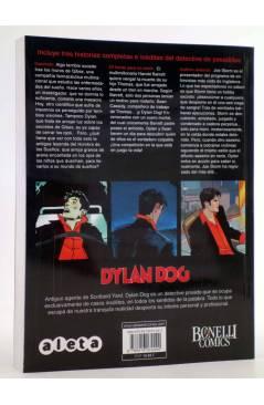 Contracubierta de DYLAN DOG VOL. 3 Nº 1. INSOMNIO (Vvaa) Aleta 2014