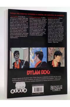Contracubierta de DYLAN DOG VOL. 3 Nº 1. TRAS LA PUERTA (Vvaa) Aleta 2014