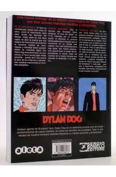 Contracubierta de DYLAN DOG VOL. 3 Nº 1. EL ÚLTIMO ARCANO (Vvaa) Aleta 2015