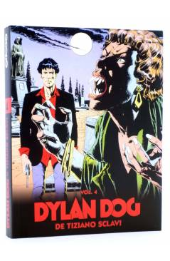 Cubierta de DYLAN DOG DE TIZIANO SCLAVI VOL. 4 (Tiziano Sclavi) Aleta 2010