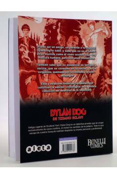 Contracubierta de DYLAN DOG DE TIZIANO SCLAVI VOL. 4 (Tiziano Sclavi) Aleta 2010