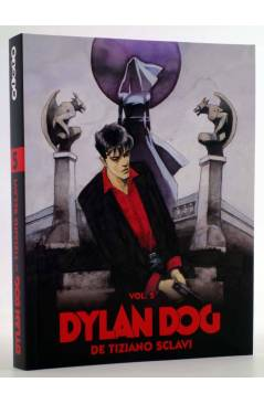 Cubierta de DYLAN DOG DE TIZIANO SCLAVI VOL. 5 (Tiziano Sclavi) Aleta 2010