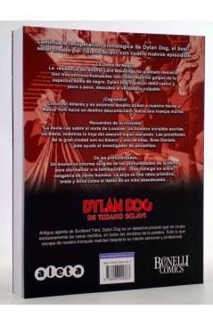 Contracubierta de DYLAN DOG DE TIZIANO SCLAVI VOL. 5 (Tiziano Sclavi) Aleta 2010