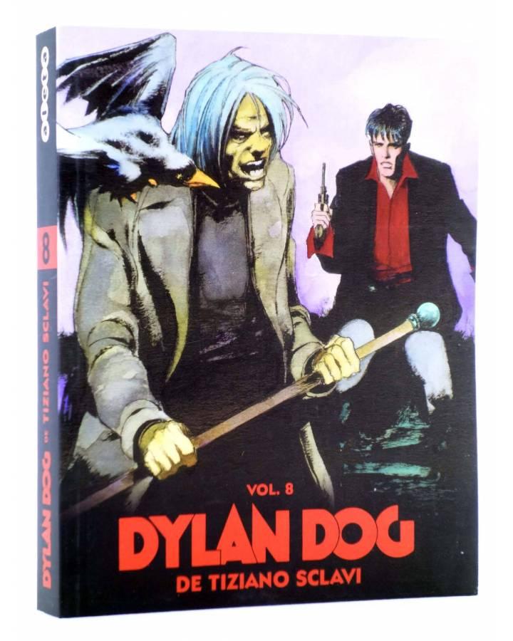Cubierta de DYLAN DOG DE TIZIANO SCLAVI VOL. 8 (Tiziano Sclavi) Aleta 2011