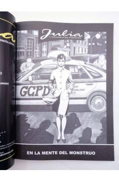 Muestra 1 de JULIA LAS AVENTURAS DE UNA CRIMINÓLOGA 2. EN LA MENTE DEL MONSTRUO (Berardi) Aleta 2011