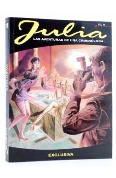 Cubierta de JULIA LAS AVENTURAS DE UNA CRIMINÓLOGA 11. EXCLUSIVA (Berardi) Aleta 2015