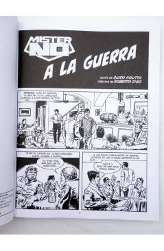 Muestra 1 de MISTER NO. A LA GUERRA (Nolitta / Diso) Aleta 2015