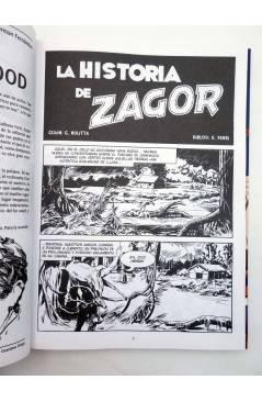 Muestra 1 de ZAGOR. LA HISTORIA DE ZAGOR (Guido Nolitta / Gallieno Ferri) Aleta 2012
