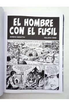 Muestra 2 de ZAGOR. EL HOMBRE CON EL FUSIL (Moreno Burattini / Gallieno Ferri) Aleta 2015