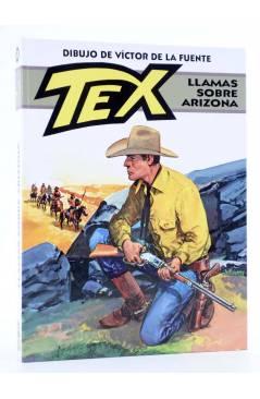 Cubierta de TEX. LLAMAS SOBRE ARIZONA (Claudi Nizzi / Víctor De La Fuente) Aleta 2013