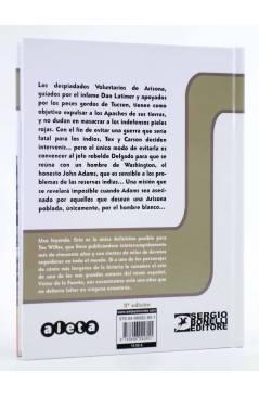 Contracubierta de TEX. LLAMAS SOBRE ARIZONA (Claudi Nizzi / Víctor De La Fuente) Aleta 2013