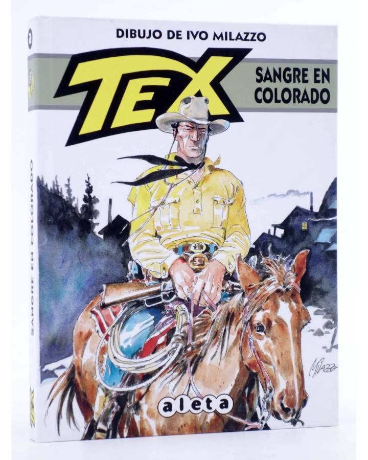 Cubierta de TEX. SANGRE EN COLORADO (Claudi Nizzi / Ivo Milazzo) Aleta 2013
