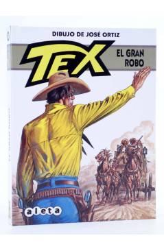 Cubierta de TEX. EL GRAN ROBO (Claudi Nizzi / José Ortiz) Aleta 2013