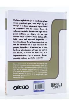 Contracubierta de TEX. EL GRAN ROBO (Claudi Nizzi / José Ortiz) Aleta 2013