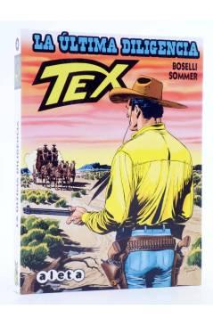 Cubierta de TEX. LA ÚLTIMA DILIGENCIA (Mauro Boselli / Manfred Sommer) Aleta 2013
