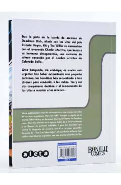Contracubierta de TEX. COLORADO BELLE (Mauro Boselli / Alfonso Font) Aleta 2014
